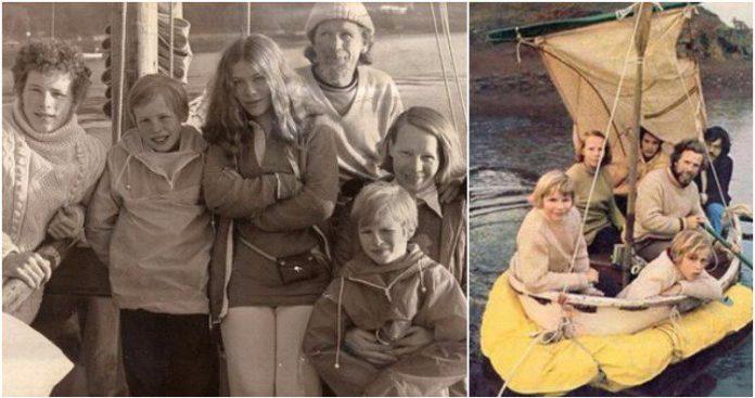 Семья 38 дней дрейфовала в открытом океане: как им удалось выжить?