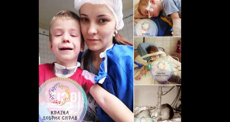 История этого мальчика даже у бывалых врачей вызывает слезы. Ожог легких!