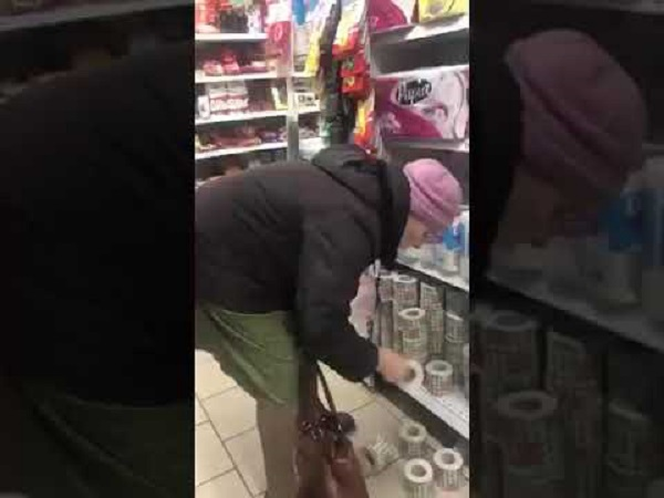 🤣🤣Как Бабушка в супермаркете туалетную бумагу выбирала (видео)