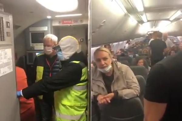 Чоловік сходив в туалет прямо біля літака у «Борисполі» (відео)