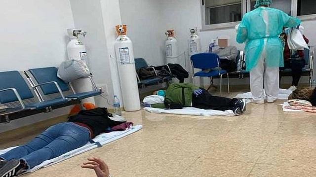 Испания во мраке из-за коронавируса: Пациенты – на полу, медсестры – в халатах из мусорных пакетов
