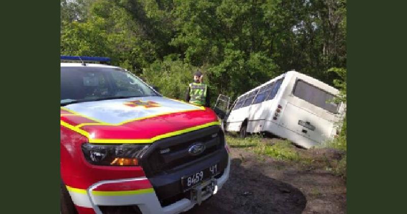 В Полтавской области произошло ДТП с участием маршрутки, есть погибший и пострадавшие
