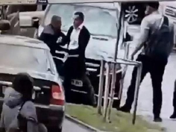 Ветеран АТО и известный бизнесмен устроили побоище в центре Киева (видео)