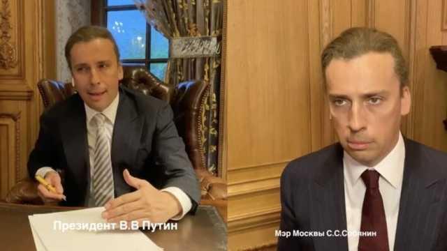 Ряд СМИ РФ по указанию Кремля удалили новости о пародии Галкина на Путина и Собянина: запрещенное видео
