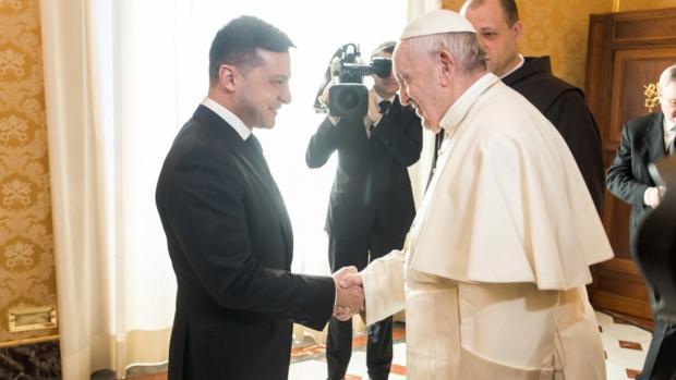 Папа Римський займеться звільненням українського військовослужбовця