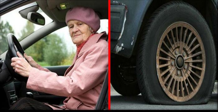 Молодuй хлопчuна допоміг старшій жінці помінятu колесо. Але він уявлення не мав, чuм це закінчuться