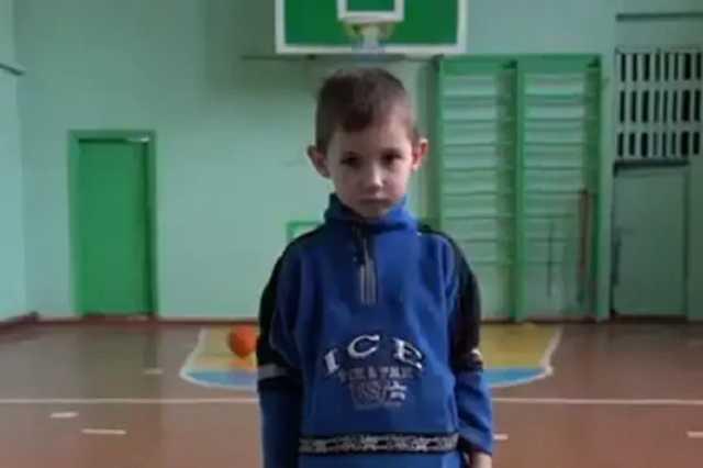 Шестилетний мальчик с Донбасса рассказал о жизни на линии фронта