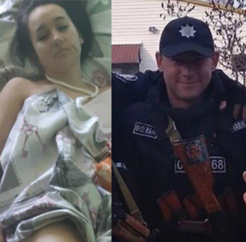 У Сєвєродонецьку поліцейський викинув з 4 поверху дружину на очах у доньки