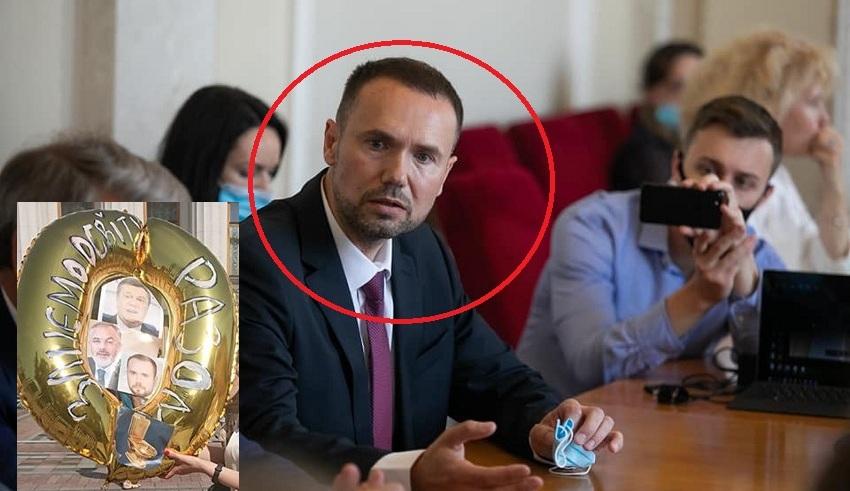 Погрожував студентам за Майдан і вимагав зняти з гуртожитку Український Прапор,- Зеленський ламає «Слуг» щоб пропхати цього міністра