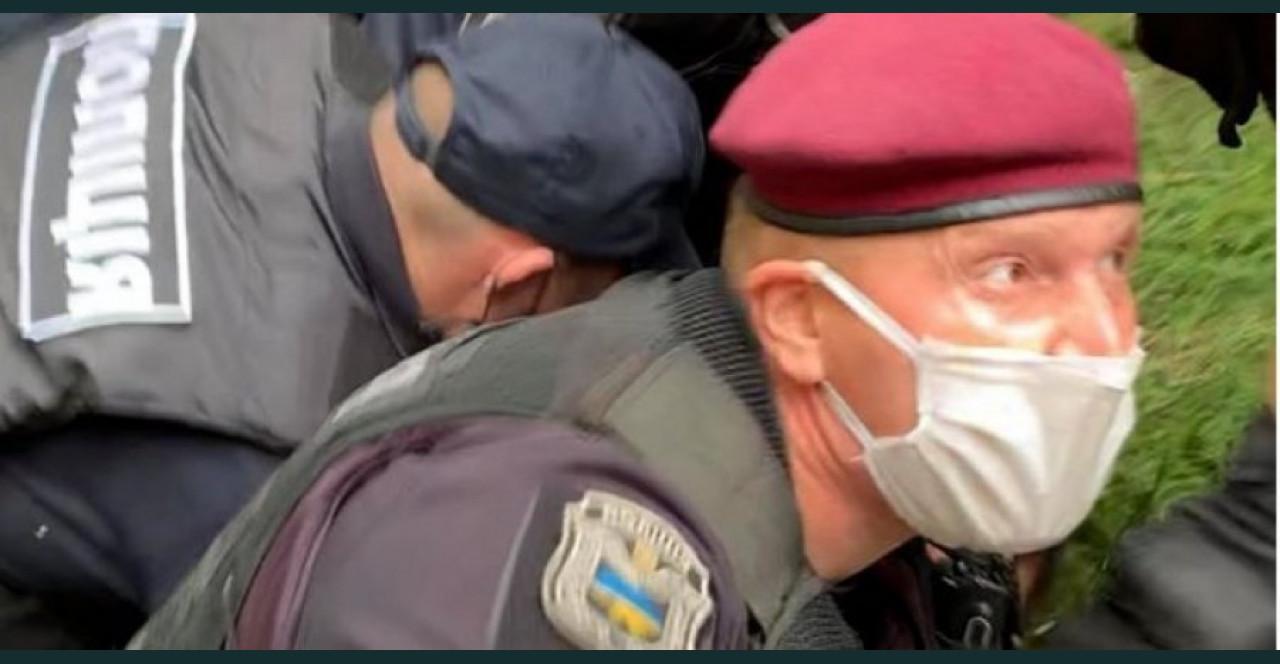 Всплыли резонансные факты об экс-беркутовце, подозреваемом в избиении ветерана АТО