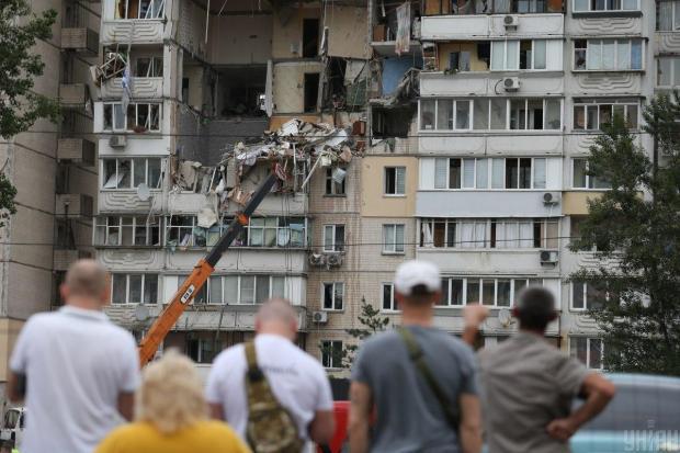 Вибух у столиці: Кличко заявив про ймовірність навмисного закладення вибухівки