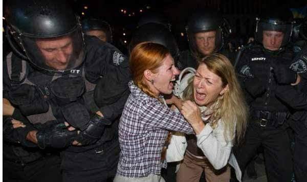 Розгін студентів на Майдані: слідчі завершили розслідування справи проти двох екс-«беркутівців»