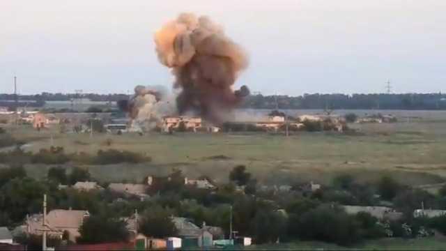 Тяжелейшие прилеты в Авдеевке: город очень напуган