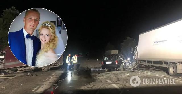 В Днепре молодая семейная пара погибла в ДТП: супруги ждали ребенка. Фото
