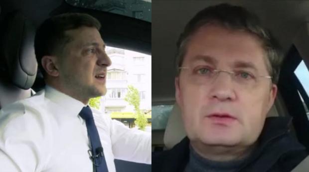 «Володю, у мене є 100% формула, щоб зупинити війну Донбасі»: Український продюсер дав пораду Зеленському