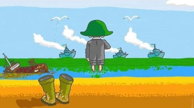 Нарада Зеленського через танкер «Delfi», що лежить біля Одеси: чиновники навчилися відповідати на пацанське бурування Зеленського