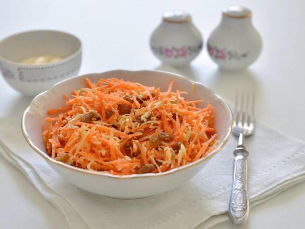 За неделю на морковном салате можно потерять 5 килограммов веса