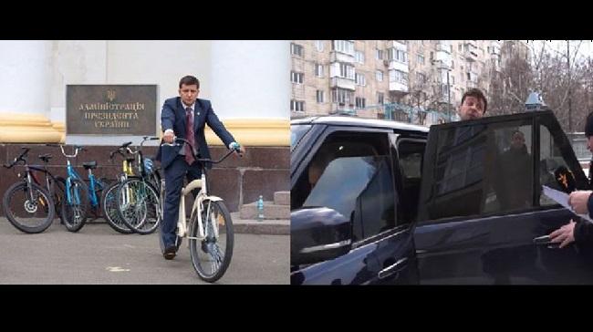 Как кортеж Президента нарушает Правила дорожного движения: видео