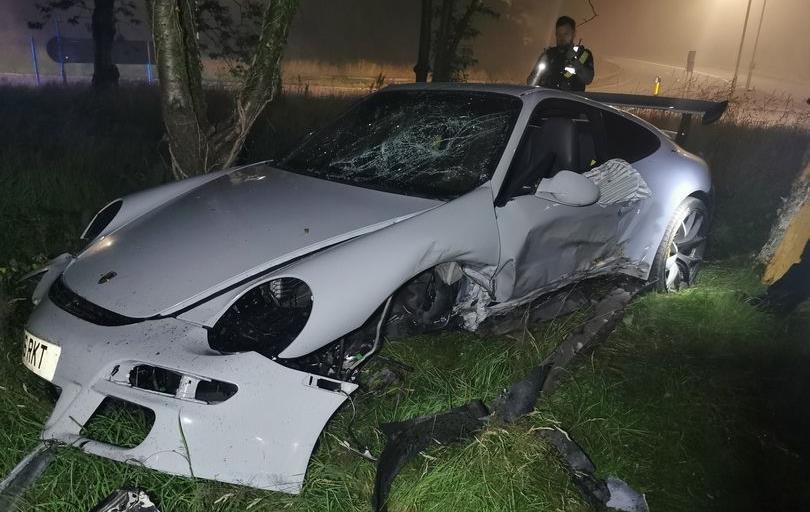 Захотів покататись: Підліток викрав, а після розбив Porsche за £82 тисячі (фото)