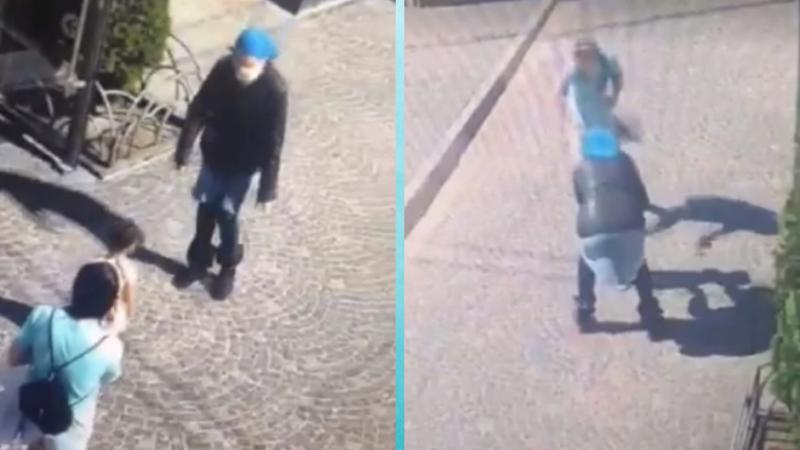 В центре Тернополя ребенка чуть не похитили на глазах у матери. Видео