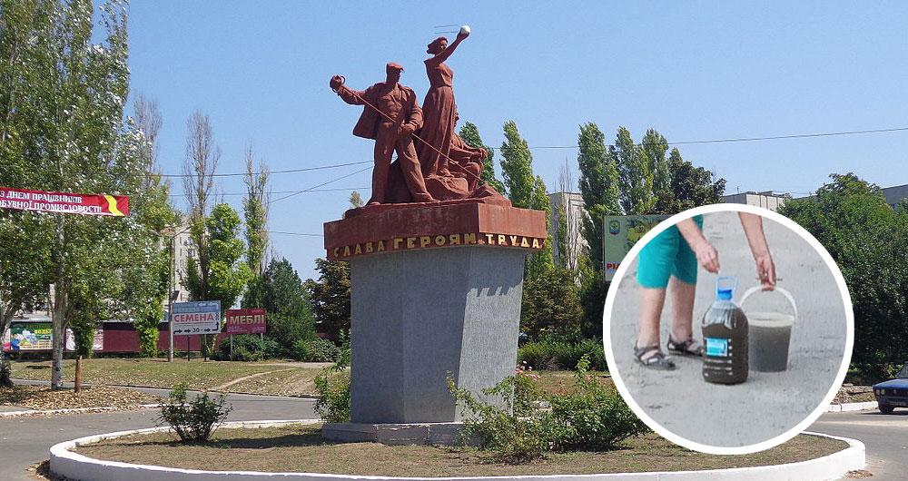 Пятые сутки без воды: В городе горняков Запорожской области техногенная катастрофа
