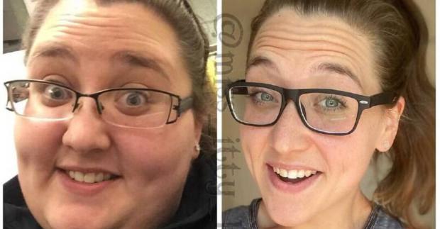 Дівчина, яка скинула 153 кілограми, розкрила секрет схуднення (фото до і після)
