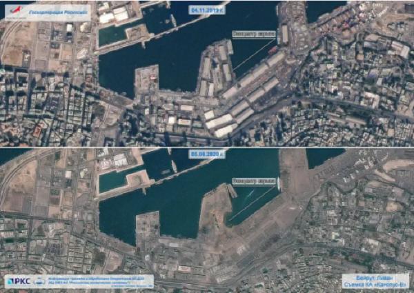 Земля пішла під воду: Ліванці продемонстрували руйнівного вибуху в Бейруті (ФОТО)