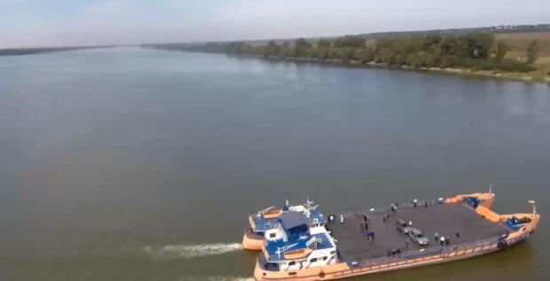 Подорож в Європу за 1 євро: В Одеській області запрацювала перша в Україні поромна переправа (відео)
