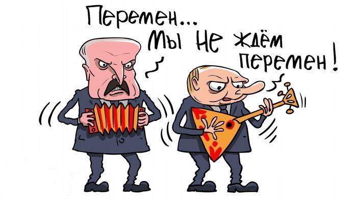 Лукашенко проголосовал под музыку и с цветами, а тем временем в Минск стягивают военную технику
