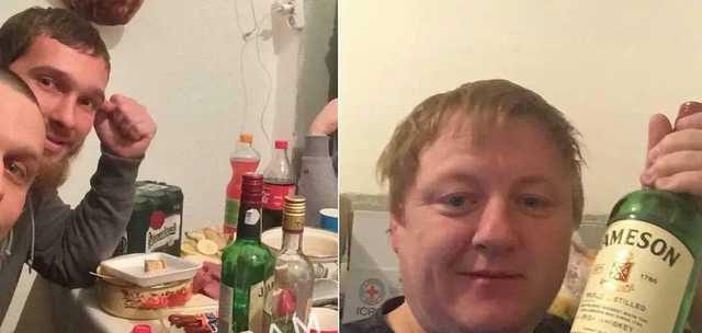 Кто ответит за организацию для заключенных СИЗО Ужгорода застолья с алкоголем? ФОТО