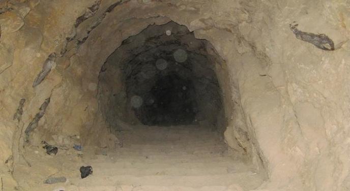 Женщина в Запорожской области рыла туннель, чтобы освободить сына из колонии. ФОТОрепортаж