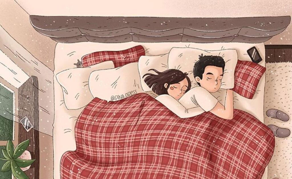 15 речей, які роблять всі щасливі пари перед тим, як лягти спати