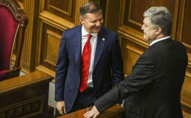 Радикал Олег Ляшко отгрохал хоромы по соседству с Порошенко