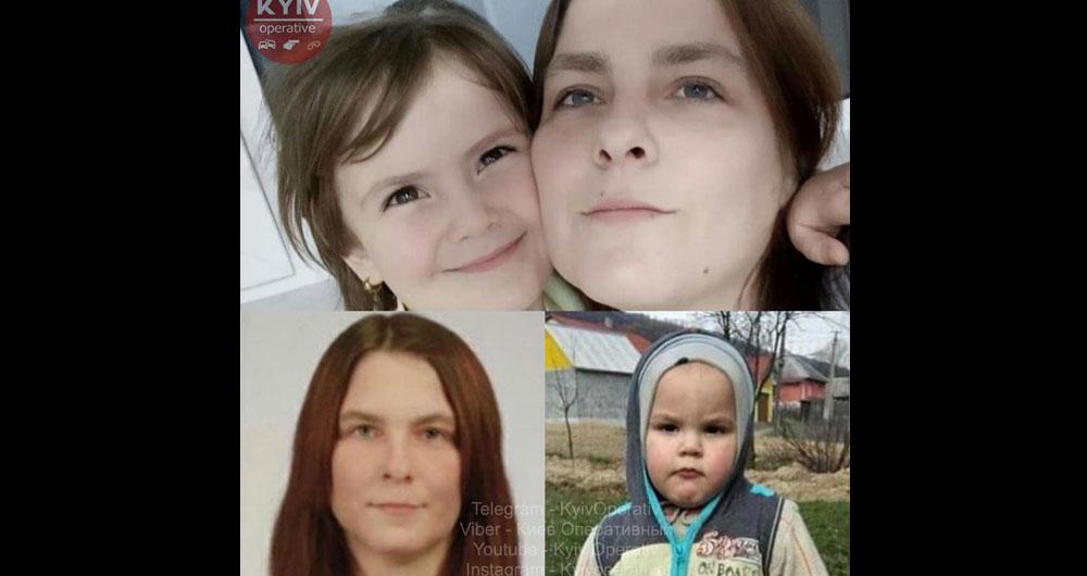 РОЗЫСК! В Броварах пропала мать с двумя детьми 5 и 2 лет