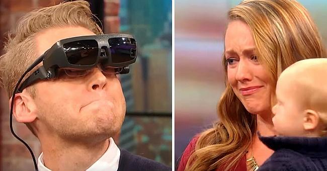 Сліпий чоловік вперше побачив свою дружину і сина, він сказав лише два слова, від яких просто сльози на очах