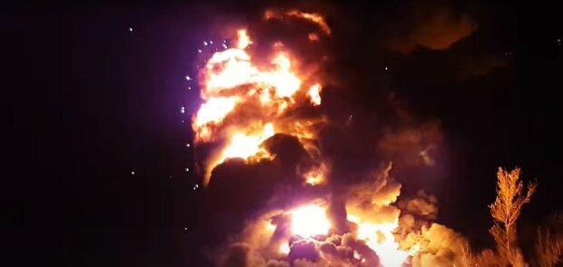 Землясодрогнулась: под Киевом газопровод взлетел на воздух, спасатели выбились из сил (фото, видео)