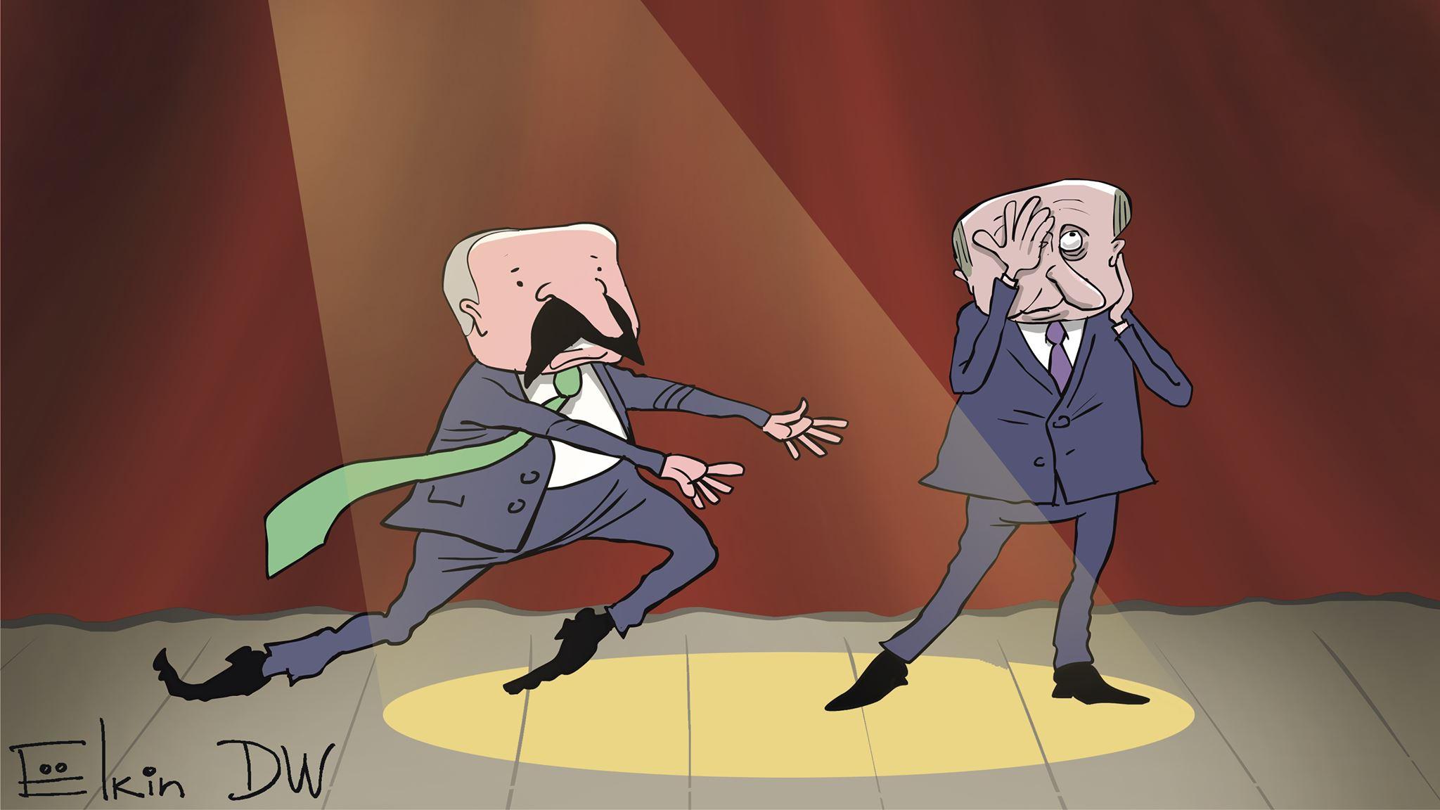 «Послал бы я тебя с удовольствием, но не могу»: Двозначні жести Путіна та Лукашенка на переговорах
