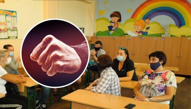 Отказалась сдавать «поборы» в школе: в Черкассах подрались родители учеников (видео)