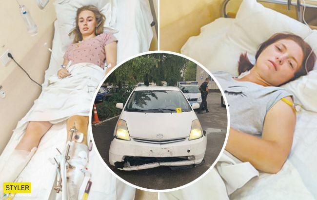 Біль та інвалідний візок — страшно заплющити очі: з'явилися нові деталі про стан курсанток, яких збив п'яний майор (відео)