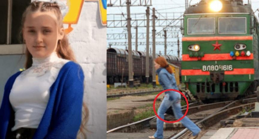 11-річна школярка кинулася під поїзд, рятуючи залишеного на рейках малюка. ФОТО