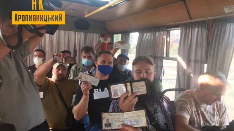 У Кропивницькому ветерани АТО і ООС креативно провчили несумлінного водія маршрутки