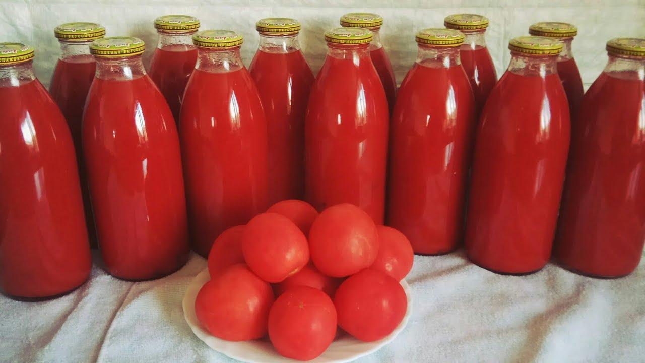 Ось уже 8 років сама готую томатний сік. Виходить в рази смачніший за магазинний!