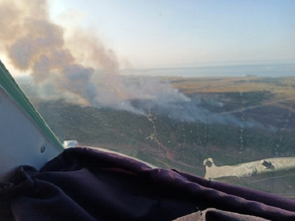 Масштабное ЧП на Херсонщине: пришлось задействовать авиацию и танки (видео)