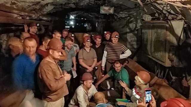 На 21-й день забастовки шахтеров администрация отказалась выполнить их требования