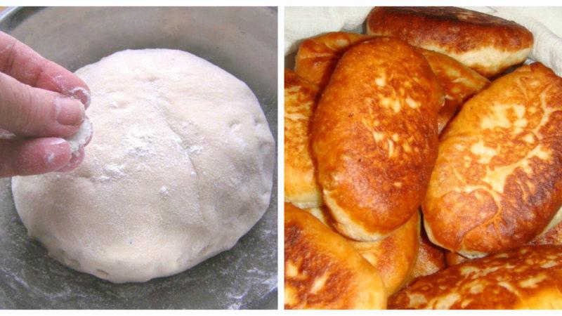 Бездріжджове тісто для пиріжків на кефірі — секрети приготування