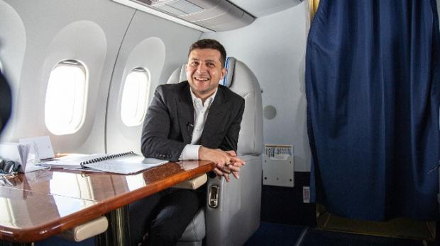 Голобородьку і не снилося: Скільки Зеленський налітав у 2020 році