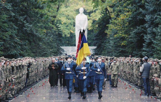 В Харькове попрощались с погибшим в катастрофе Ан-26: фото и видео