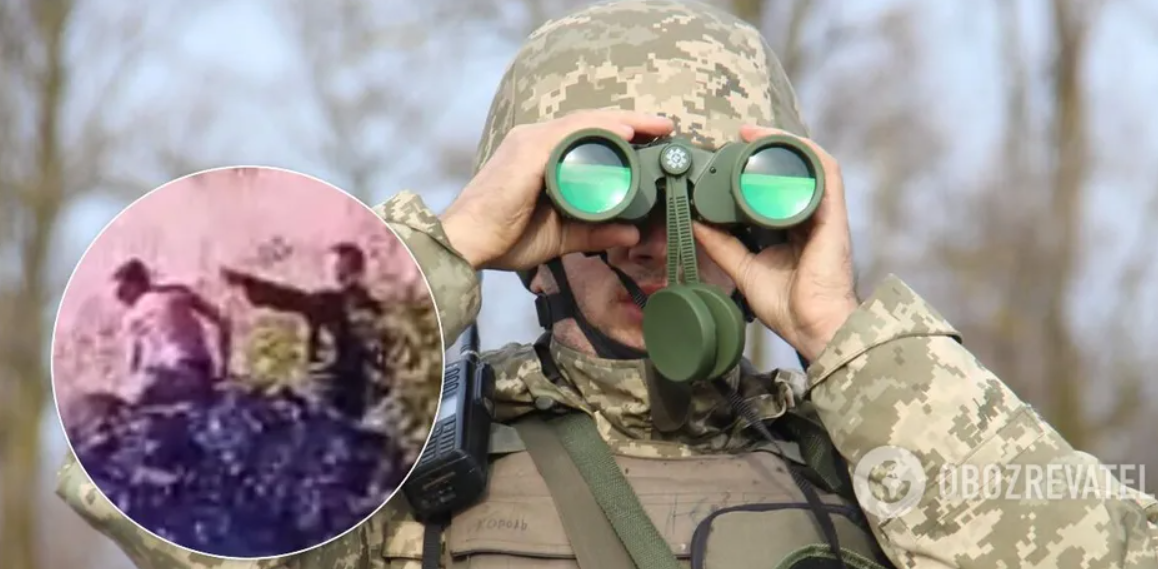 Террористы «ЛНР» отправили детей копать укрепления на линии огня. Видео