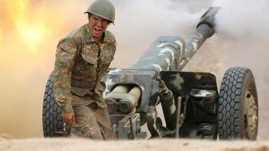 Про конфликт в Карабахе. Окей. Есть три момента. Это…
