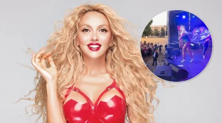 «Галас і передвиборчий ср@ч»: Полякова прокоментувала скандал довкола свого концерту у Харкові